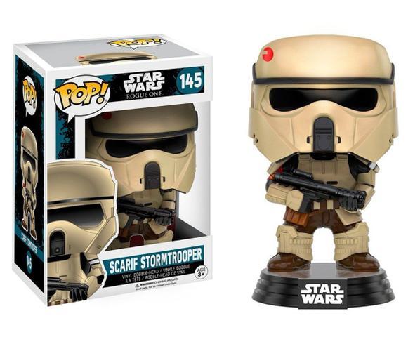 Imagem de Boneco Scarif Stormtrooper - Star Wars Rogue One Funko Pop
