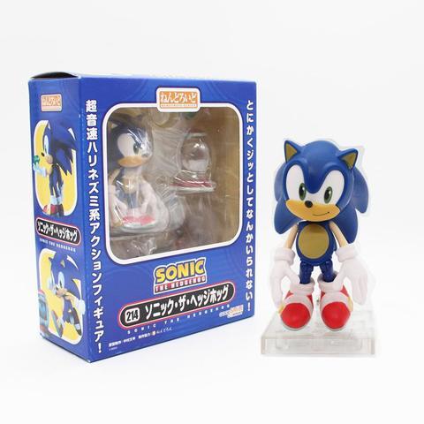 Imagem de Boneco Sonic Action Figure The Hedgehod Nendoroid - Good Smile - DUPL