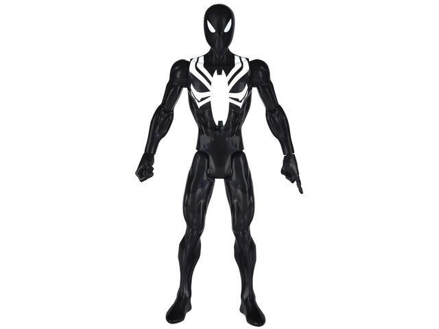 Imagem de Boneco Spider Man Traje Negro Marvel