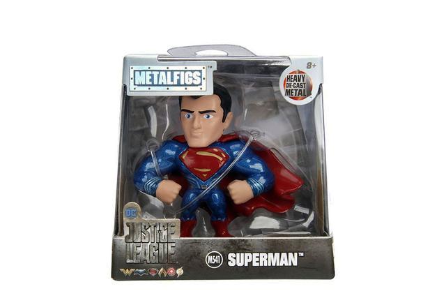 Imagem de Boneco Superman - Super-Homem - Metal Figures - Liga da Justiça - Jada