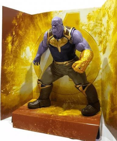 Imagem de Boneco Thanos Guerra Infinita Marvel 50 cm Brinquedos Mimo
