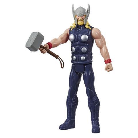 Imagem de Boneco Thor 30cm Titan Hero Marvel Vingadores - E7879 - Hasbro