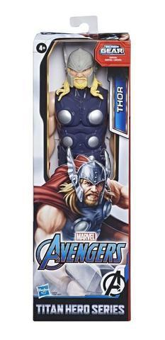 Imagem de Boneco Thor Blast Gear Titan Hero Series E7879 - Hasbro