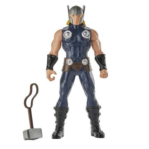Imagem de Boneco Thor com Martelo - Marvel - 25 cm - Original Hasbro