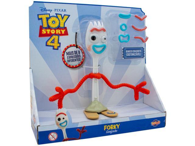 Imagem de Boneco Toy Story 4 Forky com Acessórios