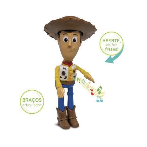 Imagem de Boneco Woody Toy Story Com Som Fala Frases - Elka