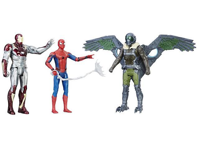 Imagem de Bonecos Marvel Spider-Man HomeComing