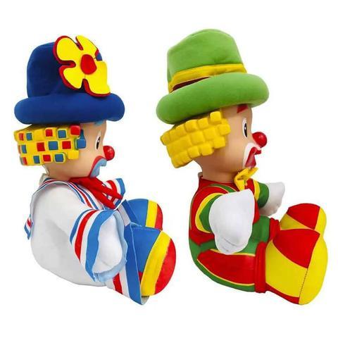 Imagem de Bonecos musicais palhaços patati patatá