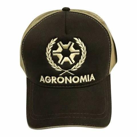 Bonés Agronomia Ref 138 Marrom E Bege Trucker - Promoção - Boné e ... 50c0543702b