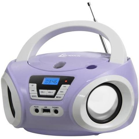 Imagem de Boombox Bd-121bl Com Usb Rádio Fm Mp3 Cd Player e Entrada Auxiliar