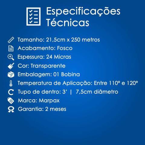 Imagem de BOPP Fosco para laminação Bobina A4 21,5cmx250m Marpax 01un
