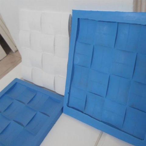 Imagem de Borracha de Silicone Azul