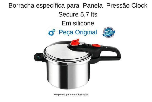 Imagem de Borracha para Panela Pressao Clock Secure 5,7lts Original