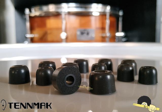 Imagem de Borrachas para Fone de Ouvido - Espuma expansiva ULTRA resistente