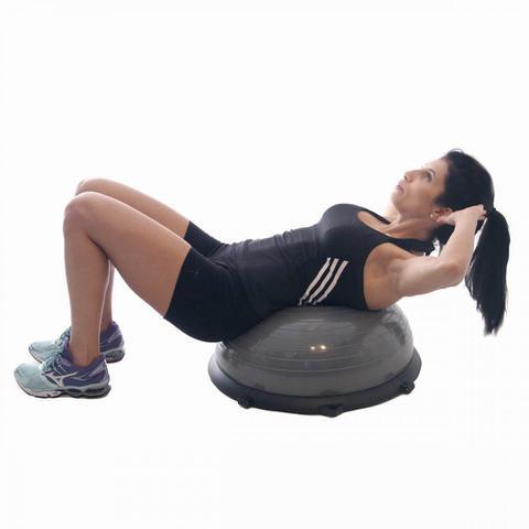 Imagem de Bosu Ball com Bomba de Ar Acte T19 Suporta até 250kg