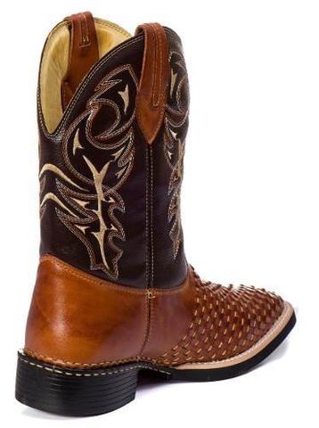 0fc1e611f9 Imagem de Bota Country Masculina Cano Longo Texana Rodeio Couro Tricê