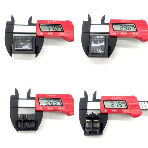 Imagem de Botão Interruptor Chave Liga Desliga Para Lavajato Electrolux EWS09 Bivolt