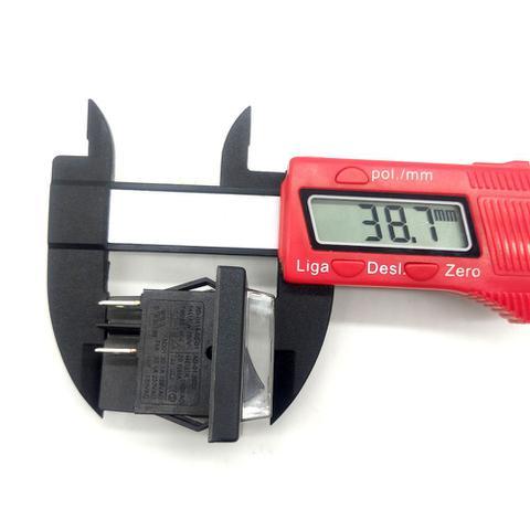 Imagem de Botão Interruptor Chave Liga Desliga Para Lavajato Electrolux EWS20 Eco Bivolt
