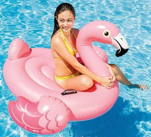 Imagem de Bote Flamingo Inflável Grande 142cm Intex