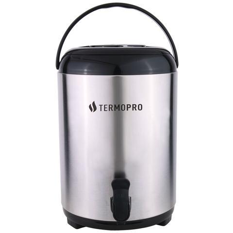 Imagem de Botijão Térmico Aço Inox Pressão Com Tripé Dobrável  10 Litros - Termopro