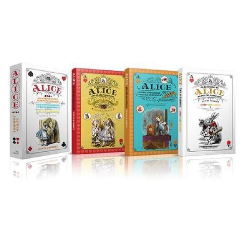 Imagem de Box Alice No Pais Das Maravilhas 3 Volumes - Pandorga