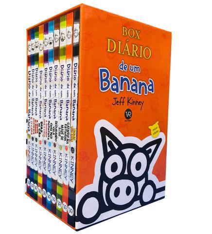 Imagem de Box diario de um banana - 10 volumes - acompanha p