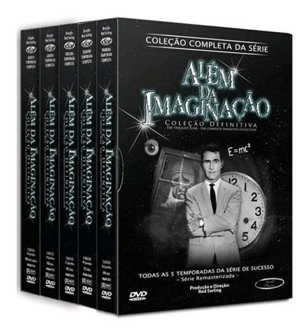 Imagem de Box DVD Além da Imaginação Coleção Completa da  Série