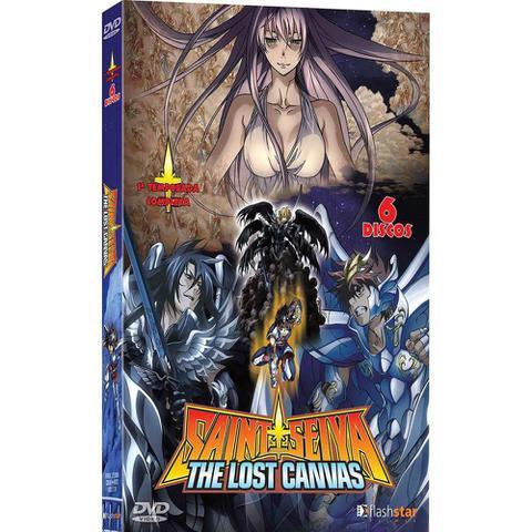 Imagem de Box Dvd Coleção Cavaleiros do Zodíaco  The Lost Canvas  1ª Temporada