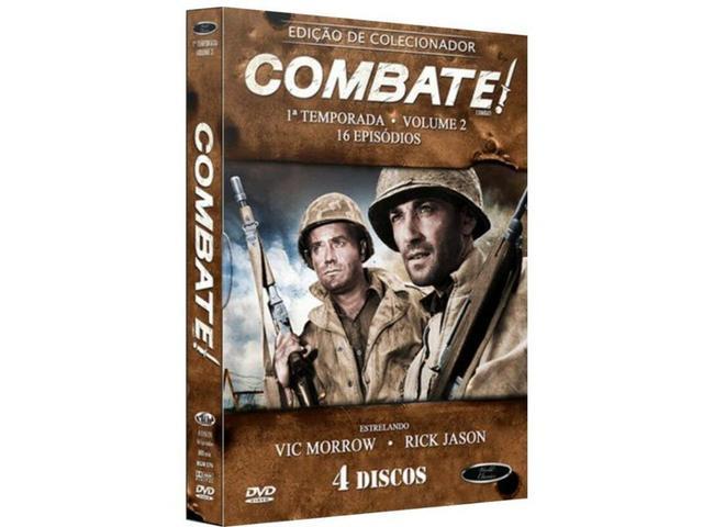 Imagem de Box Dvd: Combate 1ª Temporada Volume 2