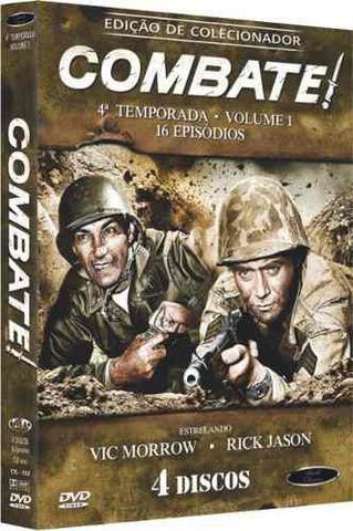 Imagem de Box Dvd: Combate 4ª Temporada Volume 1