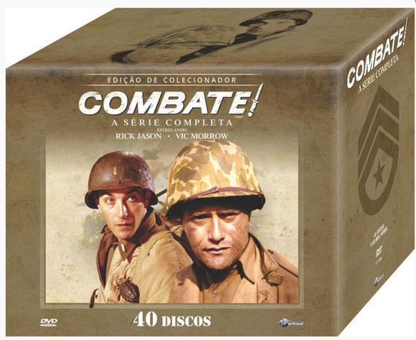 Imagem de Box DVD Combate A Serie Completa
