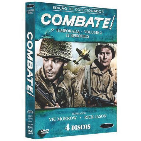 Imagem de Box DVD Combate Quinta Temporada Volume 2