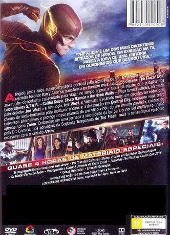 Imagem de Box DVD The Flash Segunda Temporada Completa (6 DVDs)