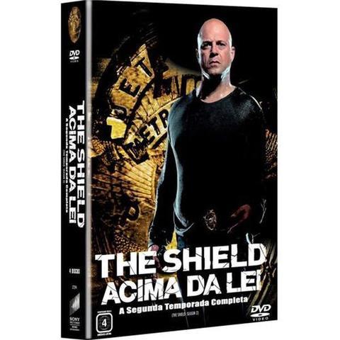 Imagem de Box Dvd -The Shield Acima Da Lei - 2 Temporada - 4 Discos