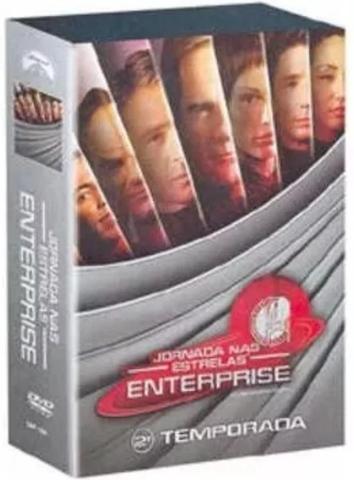 Imagem de Box Jornada Nas Estrelas Enterprise 2 Temporada - 7 discos