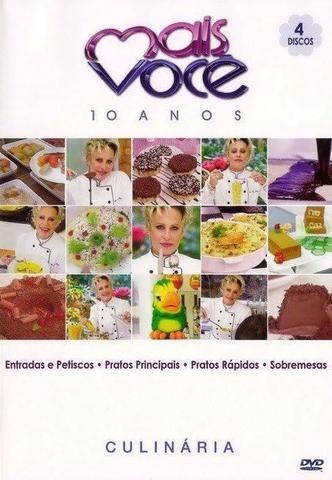 Imagem de BOX Mais Você 4 DVDs - 10 Anos