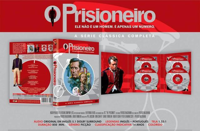 Imagem de Box o prisioneiro - a série clássica completa - dvd