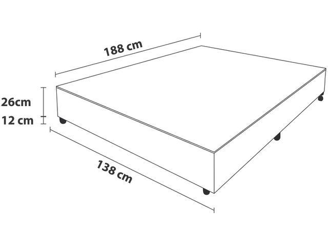Imagem de Box para Colchão Casal Probel
