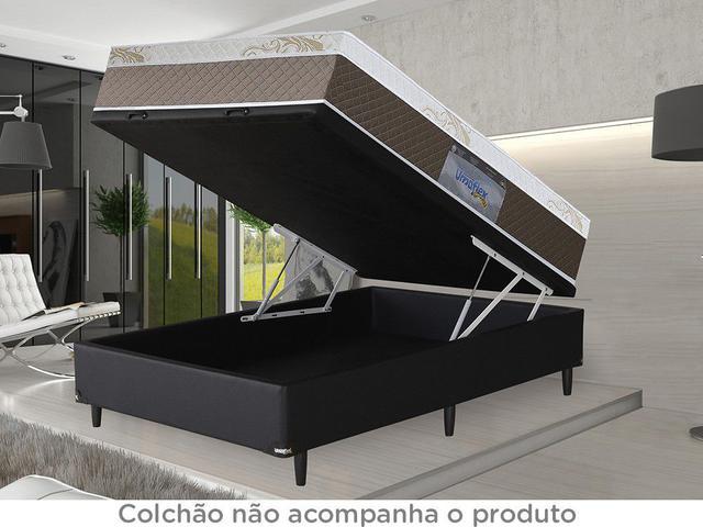 Imagem de Box para Colchão Casal Umaflex com Baú