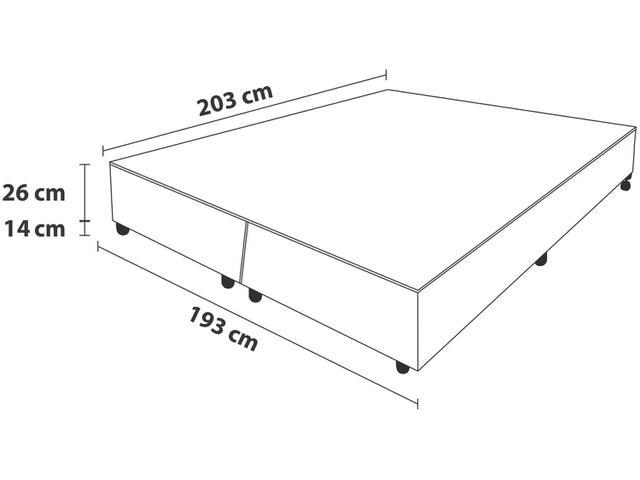 Imagem de Box para Colchão King Size ProDormir Bipartido