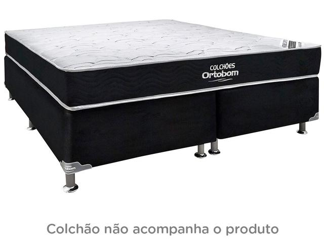 Imagem de Box para Colchão Queen Size Bipartido Ortobom