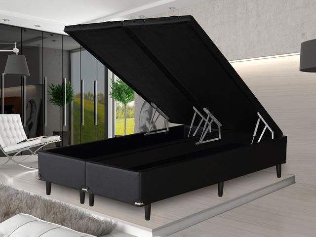 Imagem de Box para Colchão Queen Size Umaflex com Baú