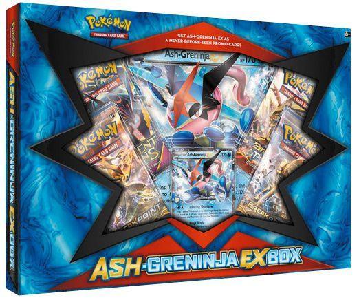 Imagem de Box Pokemon Ash Greninja Ex - Copag