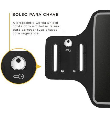 Imagem de Braçadeira porta celular Armband Universal - Samsung - lg - Iphone - Sony - asus - Motorola - Gorila