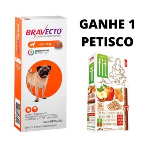 Imagem de Bravecto Antipulgas Carrapatos e Sarnas para Cães de 4,5 a 10kg