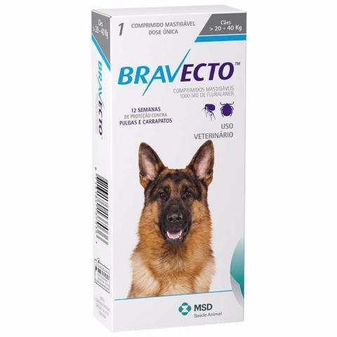 Imagem de Bravecto Para Cães De 20 A 40kg
