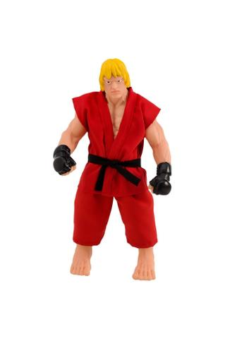 Imagem de Brinque boneco street fighter ken 30 cm - Brinquedos anjo