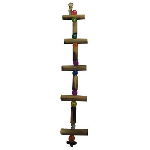 Imagem de Brinquedo Big Toy Para Pássaros Cordão Escada