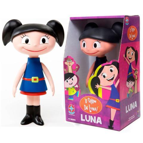 Imagem de Brinquedo Boneca Luna de Vinil O Show da Luna Estrela