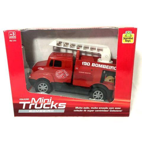 Imagem de Brinquedo Caminhão De Bombeiro